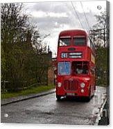 Midland Red Bus Acrylic Print