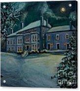 Midnight At The  Lyman Estate Acrylic Print