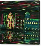 Midnight City Acrylic Print