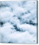 Midnight Clouds  Acrylic Print