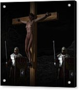 Midnight Crucifixion Acrylic Print