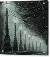 Midnight Dreary Acrylic Print