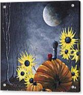 Midnight In The Pumpkin Patch By Shawna Erback Acrylic Print