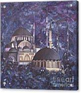 Midnight Mosque Acrylic Print
