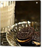 Midnight Snack Acrylic Print by Lois Bryan