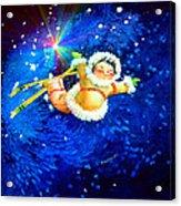 Midnight Sun Flyer Acrylic Print