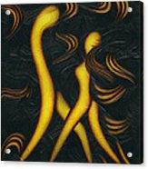 Midnight Tango. Acrylic Print