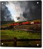 Midnight Train - 5d21043 Acrylic Print