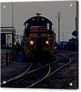 Midnight Train Acrylic Print