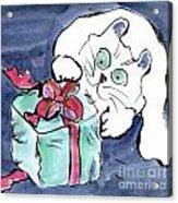 Midnight Under The Christmas Tree Acrylic Print