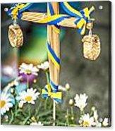 Midsummer Pole Acrylic Print