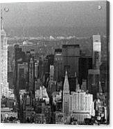 Midtown Manhattan 1980s Acrylic Print
