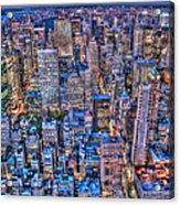 Midtown Manhattan Skyline Acrylic Print