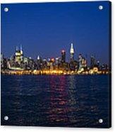 Midtown Manhattan Skyline View Acrylic Print