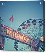 Midway Acrylic Print