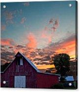 Midwest Barn  Acrylic Print