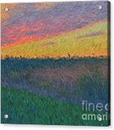 Midwest Sunset Acrylic Print