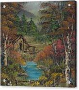 Midwestern Landscape Acrylic Print