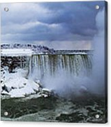 Mighty Cold Niagara Acrylic Print