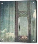 Michigans Mackinac Bridge Acrylic Print