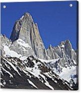 Mighty Mount Fitz Roy Acrylic Print