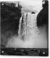 Mighty Snoqualmie Acrylic Print