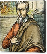 Miguel Serveto (1511-1553) Acrylic Print