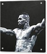 Mike Tyson 1 Acrylic Print