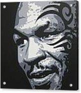 Mike Tyson 11 Acrylic Print