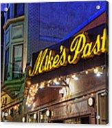 Mike's Pastry Shop - Boston Acrylic Print by Joann Vitali