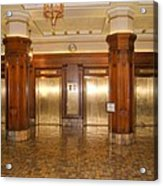 Milam Building Elevators Acrylic Print