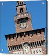 Milan, Italy. Castello Sforzesco Acrylic Print