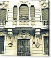 Milan Vintage Building Acrylic Print