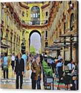Milano Shopping Center 3 Acrylic Print