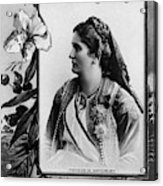 Milena Vukotic (1847-1923) Acrylic Print