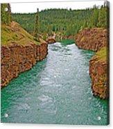 Miles Canyon In Whitehorse-yt Acrylic Print