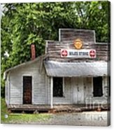 Miles Country Store Acrylic Print