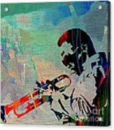 Miles Davis Jazzman Acrylic Print