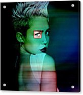 Miley Cyrus Acrylic Print