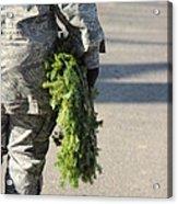 Military Christmas  Acrylic Print