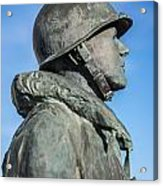 Military Soldier Acrylic Print
