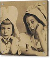 Milkmaid Sisters Acrylic Print