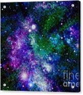 Milky Way Abstract Acrylic Print