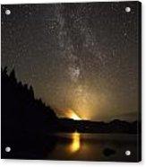 Milky Way At Crafnant 2 Acrylic Print