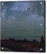 Milky Way At Mono Lake Acrylic Print
