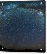 Milky Way Bow Acrylic Print