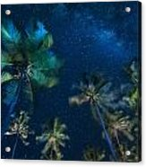 Milky Way From Jambiani Beach Acrylic Print