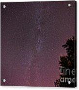 Milky Way In Nj Acrylic Print