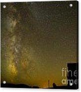 Milky Way Lights The Way. Acrylic Print