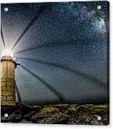 Milky Way Over Marshall Point Acrylic Print